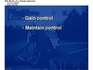 Georgia deputy mad stop for speeding